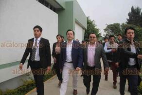 Xalapa, Ver., 15 de noviembre de 2019.- El gobernador, Cuitláhuac García Jiménez, impartió la conferencia magistral: