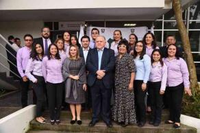 Coatepec, Ver., 21 de octubre de 2019.- El presidente del Tribunal Superior de Justicia, Edel Álvarez Peña, puso en marcha el nuevo Centro de Convivencia Familiar Asistida en este municipio. Suman siete los centros de este tipo en la entidad.