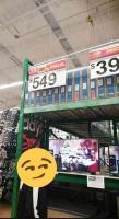 Xalapa, Ver., 5 de diciembre de 2019.- Usuarios reportaron que en Walmart de Lázaro Cárdenas no quieren respetar el precio de una pantalla la cual se ofertó en $549, en cuanto el personal se dio cuenta cambiaron el precio negándose hacer válido el que estaba colocado.
