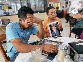 Veracruz, Ver., 6 de enero de 2019.- Padres del menor Yeshua Molina Medina exigieron a las autoridades agilizar la búsqueda de su pequeño quien fue sustraído por desconocidos este jueves por la noche, en el fraccionamiento Los Torrentes.