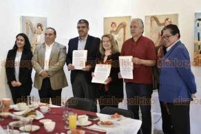 Xalapa, Ver., 6 de diciembre de 2019.- Autoridades municipales firmaron un convenio con la Fundación México-EU para la Ciencia, con la finalidad de crear clústers culturales.
