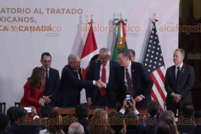 Ciudad de México, 10 de diciembre de 2019.- El presidente Andrés Manuel López Obrador fue testigo de honor en la