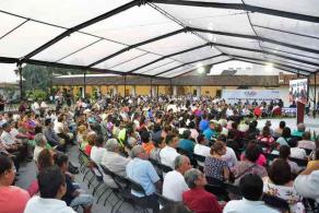 Córdoba, Ver., 10 de diciembre de 2019.- La presidenta municipal de Córdoba, Leticia López Landero, rindió su Segundo Informe de Gobierno, en la ex hacienda San Francisco Toxpan.