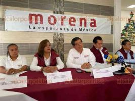Xalapa, Ver., 12 de diciembre de 2019.- El Comité Ejecutivo Estatal de MORENA en Veracruz aseveró en conferencia de prensa que se trabaja por la unidad del partido.