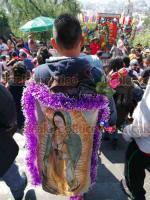 Ciudad de México, 12 de diciembre de 2019.- En la Basílica, casi 10 millones de fieles a la Virgen de Guadalupe han festejado su aparición en 1531 en el Cerro del Tepeyac ante el indio Juan Diego. Agradecen favores y cumplen mandas.