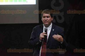 Xalapa, Ver., 12 de diciembre de 2019.- En el auditorio UNIRA se informó de los avances del Programa de Manejo del Área Natural Protegida
