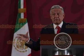 Ciudad de México, 13 de diciembre de 2019.- El presidente Andrés Manuel López Obrador lamentó que los legisladores no aprobaron la reducción del 50 por ciento de recursos para los partidos.