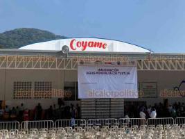 Catemaco, Ver., 15 de diciembre de 2019.- Por la calidad del agua de manantial en la región, hace 5 meses se decidió reactivar la planta de la empresa Coyame, con el apoyo del Gobierno estatal. Generará medio millón de pesos diarios.