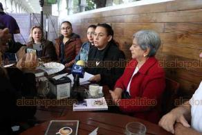 Xalapa, Ver., 20 de enero de 2020.- Lourdes Jiménez, directora del proyecto ARPA, denunció que el embalse de toros que anunció la titular de SECTUR Veracruz, Xóchitl Arbesú Lago, que se llevará a cabo en las fiestas de Tlacotalpan, viola las leyes de protección animal.