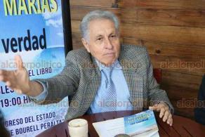 Xalapa, Ver., 21 de enero de 2020.- Karina Martínez, directora del Instituto Mexicano de Investigación y Desarrollo Integral (IMIDI) y Raúl Martínez, invitaron a la presentación del libro