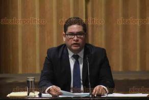 Xalapa, Ver., 22 de enero de 2020.- Este miércoles, tocó comparecer al comisionado presidente del Instituto Veracruzano de Acceso a la Información, José Rubén Mendoza Hernández.