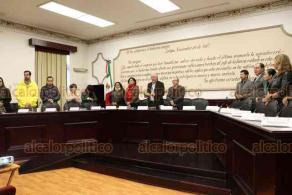 Xalapa, Ver., 24 de enero de 2020.- Este viernes, se llevó a cabo la Sesión Extraordinaria del Cabildo, que presidió el alcalde Hipólito Rodríguez Herrero.