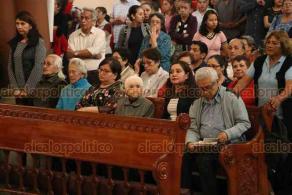 Xalapa, Ver., 26 de enero de 2020.- Este domingo en la Catedral Metropolitana, estuvo presente monseñor Joaquín Vázquez, sacerdote de la Arquidiócesis de Yucatán, acompañando al arzobispo Hipólito Reyes.