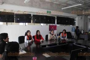 Xalapa, Ver., 27 de enero de 2020.- La secretaria de Protección Civil del Estado, Guadalupe Osorno Maldonado, presentó las Acciones y Avances en la Estrategia para la Igualdad de Género en la dependencia.