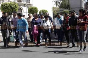 Ciudad de México, 28 de enero de 2020.- Padres de niños con cáncer, encabezados por Israel Rivas, se reunieron con el subsecretario de Gobernación, Ricardo Peralta, para resolver la atención y entrega de medicamentos.