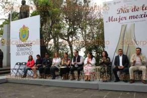 Xalapa, Ver., 15 de febrero de 2020.- Celebración por el Día de la Mujer Mexicana, organizado por el Instituto Veracruzano de las Mujeres y el Instituto Veracruzano de Asuntos Indígenas, en el Parque Juárez.