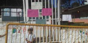 Xalapa, Ver., 17 de febrero de 2020. -Madres del Centro Preescolar