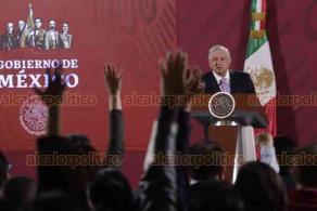 Ciudad de México, 18 de febrero de 2020.- En su conferencia mañanera, el presidente Andrés Manuel López Obrador afirmó que antes se hacían