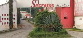 Martínez de la Torre, Ver., 19 de febrero de 2020.- Responsables habrían quemado la camioneta donde se la llevaron a la mujer taxista para luego cambiar de unidad.