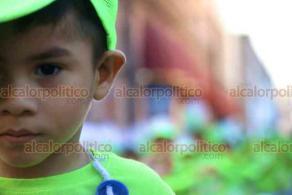 Veracruz, Ver., 19 de febrero de 2020.- Unos 3 mil niños de diferentes escuelas participaron en el Desfile Infantil que da inicio a las actividades del primer día del Carnaval.