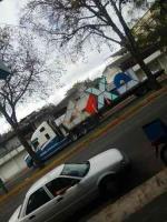 Xalapa, Ver., 21 de febrero de 2020.- Esta mañana, arribó el letrero turístico que, de acuerdo con el Ayuntamiento, se instalará en el Paseo de los Lagos. Es una versión distinta a la que está en el Parque