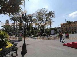 """Córdoba, Ver., 23 de febrero de 2020.- Aunque no hay ningún """"toque de queda"""", la mayoría de los cordobeses parece haber decidido no salir luego del sábado de balaceras en la ciudad. Mientras, elementos de seguridad se mantienen patrullando."""
