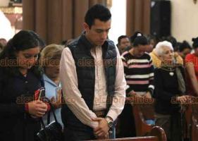 """Xalapa, Ver., 23 de febrero de 2020.- """"Córdoba tuvo acontecimientos difíciles, sangrientos. A nuestros hermanos de Córdoba les mandamos un aplauso y nuestra oración"""", dijo este domingo el arzobispo, Hipólito Reyes Larios."""
