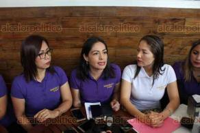 """Xalapa, Ver., 25 de febrero de 2020.- La Organización Estatal de Mujeres del PRD anunció que se sumará al paro nacional """"Un Día sin Mujeres"""" este 9 de marzo. Exigieron al Estado no victimizar más a mujeres y niñas, """"existe demasiada violencia; Veracruz es el Estado con más feminicidios""""."""