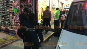 Xalapa, Ver., 26 de febrero de 2020.- Paramédicos de Código Bravo atendieron el reporte de una persona lesionada por arma blanca en la calle Abasolo, en el centro de la ciudad, sin embargo, se confirmó que se trataba de una persona en estado de ebriedad.