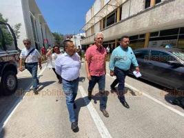 Xalapa, Ver., 31 de marzo de 2020.- El alcalde Hipólito Rodríguez inauguró la calle Allende, ya rehabilitada y con más espacio para peatones, tras una inversión de más de 20 millones de pesos.