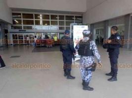 """Veracruz, Ver., 3 de abril de 2020.- En los operativos """"Comercio Seguro"""" participan elementos de SSP, Fuerza Civil, Fuerza Civil y Guardia Nacional."""