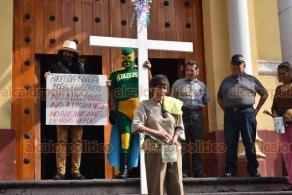 Xalapa, Ver., 6 de abril de 2020.- Como cada año, el activista