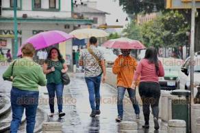 Xalapa, Ver., 3 de junio de 2020.- Este miércoles, los remanentes de la tormenta tropical Cristóbal trajeron lluvia y ambiente fresco a la capital del Estado.
