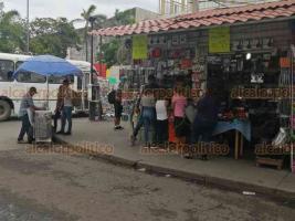 Veracruz, Ver., 1° de julio de 2020.- En la zona del mercado