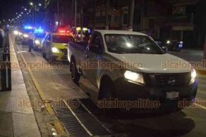 Veracruz, Ver., 8 de agosto de 2020.- Director de Tránsito y de Gobernación municipales exhortaron a motociclistas a evitar aglomeraciones por la pandemia que atraviesa el país y les recordaron que arrancones están prohibidos.