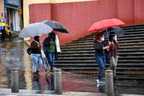 Xalapa, Ver., 8 de agosto de 2020.- Este sábado, la lluvia persiste en la Capital del Estado. De acuerdo con pronósticos de Protección Civil Estatal, estas condiciones podrían extenderse todo el fin de semana.