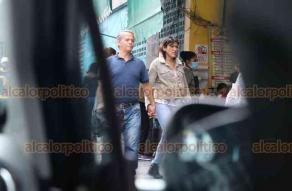 Xalapa, Ver., 9 de agosto de 2020.- Este domingo se pudieron observar aglomeraciones de personas en el centro de la capital; cabe resaltar que no todos los peatones portaban el cubrebocas.