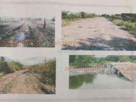 Xalapa, Ver., 22 de septiembre de 2020.- Está documentado el pésimo estado de los caminos que servirían como salida de emergencia para pobladores y personal de la planta nuclear de Laguna Verde, explicó el senador Ricardo Ahued.