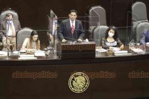 Ciudad de México, 23 de septiembre de 2020.- El Pleno de la Cámara de Diputados aprobó por 300 votos a favor, 41 abstenciones y 64 en contra, la reforma a la Ley Federal de Remuneraciones de los Servidores Públicos para garantizar que nadie gane más que el Presidente de la República.
