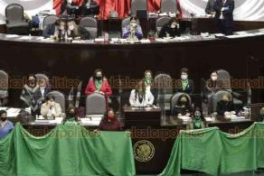 Ciudad de México, 29 de septiembre de 2020.- Legisladoras presentaron sus posicionamientos en el marco de la acción global por un aborto legal, libre y seguro. Diputadas de MORENA propusieron una legación a nivel nacional.