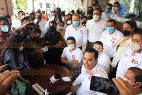 Xalapa, Ver., 19 de octubre de 2020.- Antonio Lagunes Toral, coordinador de Redes Sociales Progresistas, adelantó que ya como partido político buscarán ser la segunda fuerza política en Veracruz.