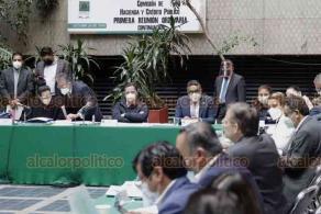 Ciudad de México, 20 de octubre de 2020.- La Comisión de Hacienda y Crédito Público de la Cámara de Diputados discute Miscelánea Fiscal mientras en el Pleno mandan a receso para esperar dictámenes de las comisiones de Hacienda y Gobernación.
