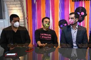 """Xalapa, Ver., 21 de octubre de 2020.- En conferencia de prensa, organizadores de la """"Noche de Catrinas Xallitic"""" dieron detalles sobre los eventos que se llevarán a cabo del 29 al 31 de octubre en diferentes sedes de la Capital."""