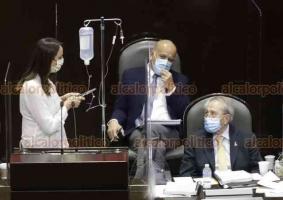 Ciudad de México, 22 de octubre de 2020.- La diputada panista, Ana Paola López Birlain, cuestionó al secretario de Salud, Jorge Alcocer, en los tratamientos para niños con cáncer, afirma que llevan casi dos años sin atención.