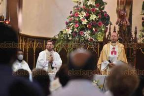 Xalapa, Ver., 24 de octubre de 2020.- A mediodía de este sábado fue la misa en Catedral en memoria de San Rafael Guízar y Valencia, presidida por el S.E Mons Franco Coppola, Nuncio Apostólico en México.