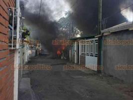 La Antigua, Ver., 27 de octubre de 2020.- La tarde de este martes se incendió una humilde vivienda en la colonia Modelo en Ciudad Cardel. Bomberos y Protección Civil llegaron al sitio, no se reportaron heridos.