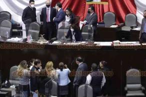 Ciudad de México, 28 de octubre de 2020.- Con 242 votos a favor, 5 abstenciones y 3 en contra, la Cámara de Diputados avaló la Ley General de Salud. Sesión se suspendió por falta de condiciones para los posicionamientos de partidos.