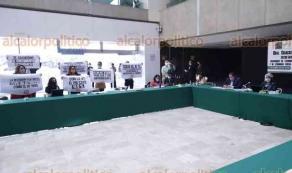 Ciudad de México, 28 de octubre de 2020.- La secretaria de Economía, Graciela Márquez, compareció ante las comisiones unidas de Economía, Comercio y Competitividad y Fomento al Cooperativismo de la Cámara de Diputados. MC rechazó su política económica.