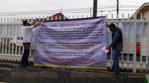 Orizaba, Ver., 29 de octubre de 2020.- Trabajadores de la Jurisdicción Sanitaria protestaron este jueves.
