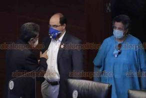 Ciudad de México, 29 de octubre de 2020.- En el Senado inició el análisis de los dictámenes de las leyes de Miscelánea Fiscal, de Derechos y la de Ingresos 2021. Intenso cabildeo hay entre legisladores de oposición y la mayoría de MORENA.